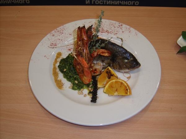Оригинальное блюдо на конкурс поваров
